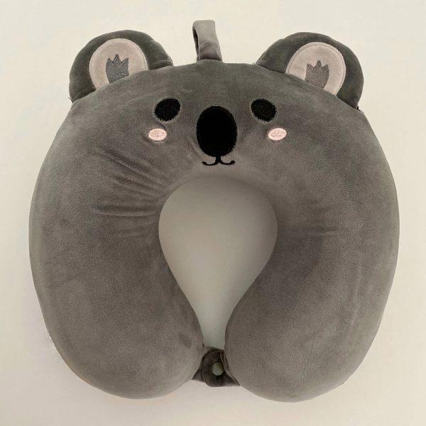Almohada de viaje infantil viscoelástica koala