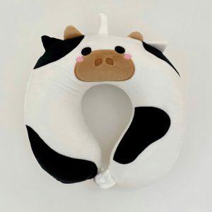 Almohada de viaje para niños – Vaca