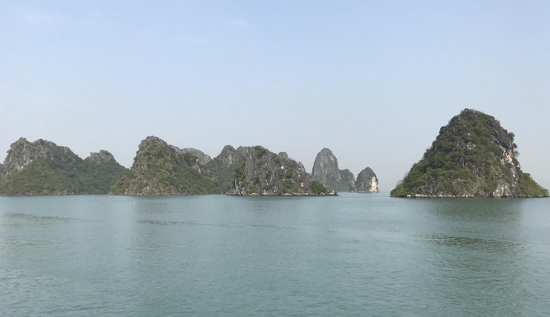 Islotes de la bahía de Halong