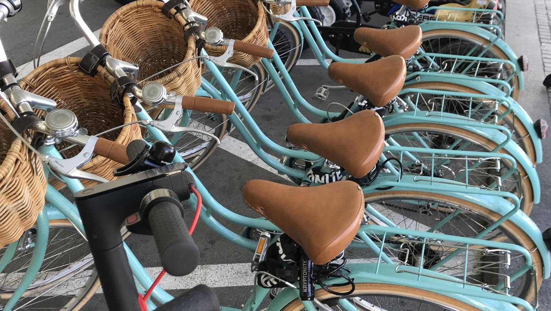 Bicicletas de alquiler en Valencia