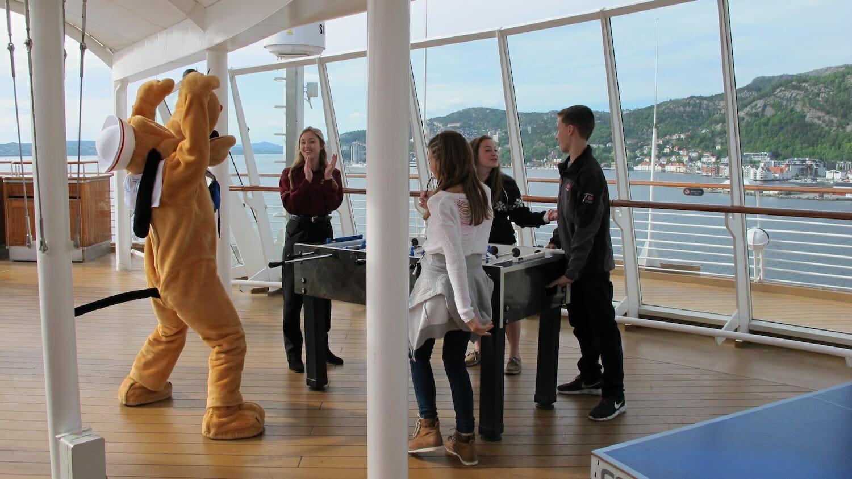 Diversion para jóvenes barco Disney