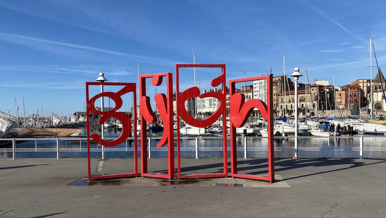 Letras de la ciudad de Gijón