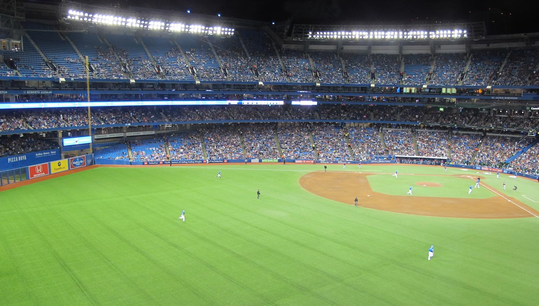 Partido de Béisbol en Toronto