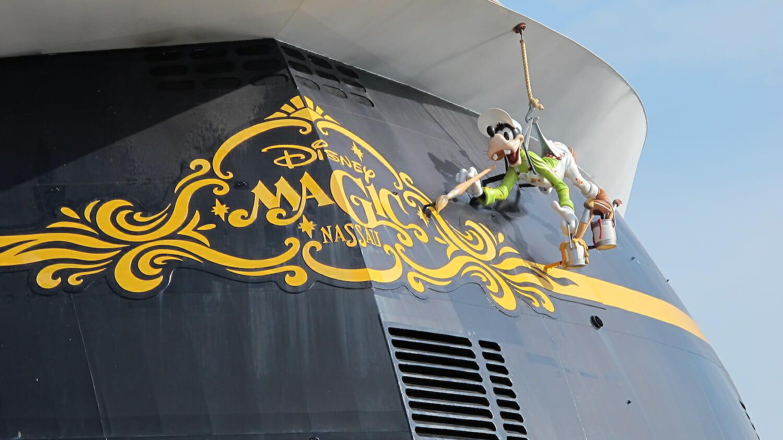 Popa del crucero Disney Magic