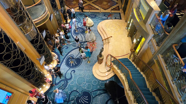 Encuentro con princesas en el crucero Disney