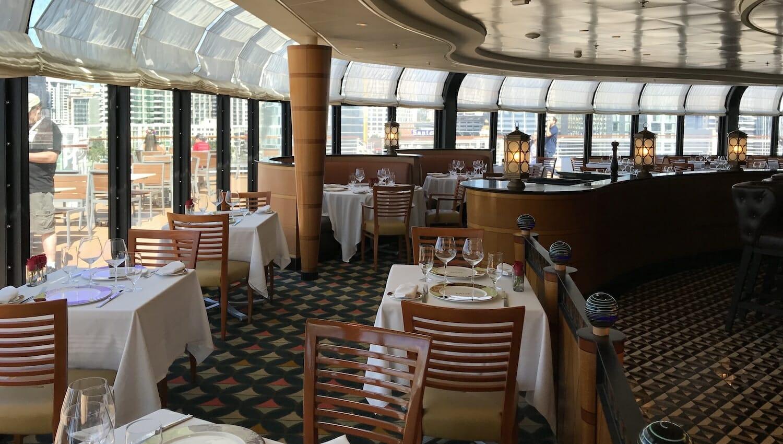 Restaurante para adultos en el Crucero Disney