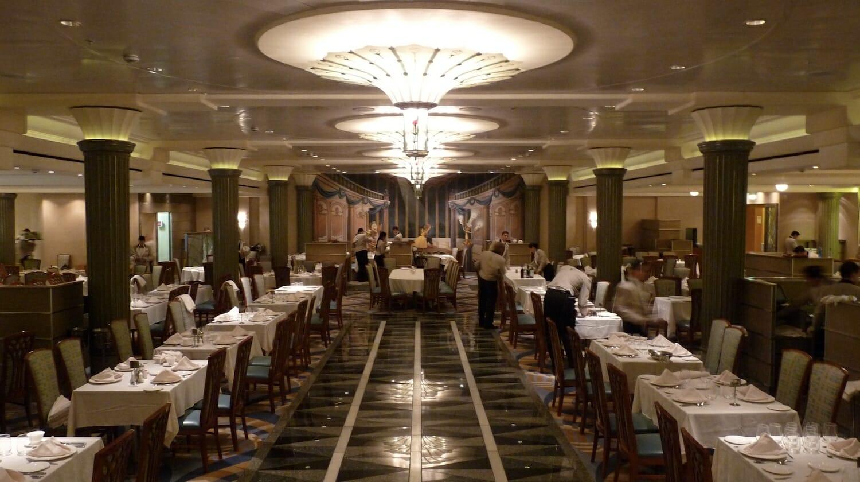 Restaurante del Crucero Disney Magic