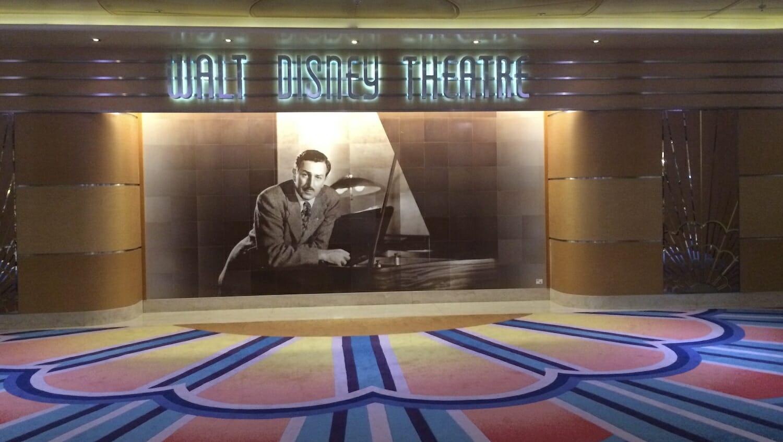 Teatro Walt Disney del Crucero Disney Magic