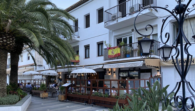 Bar con terraza en Mijas Pueblo