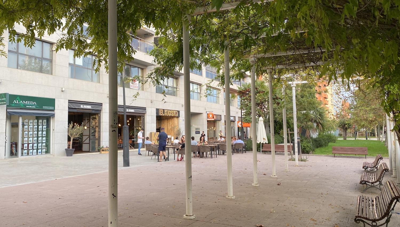 Terrazas en la Alameda de Valencia