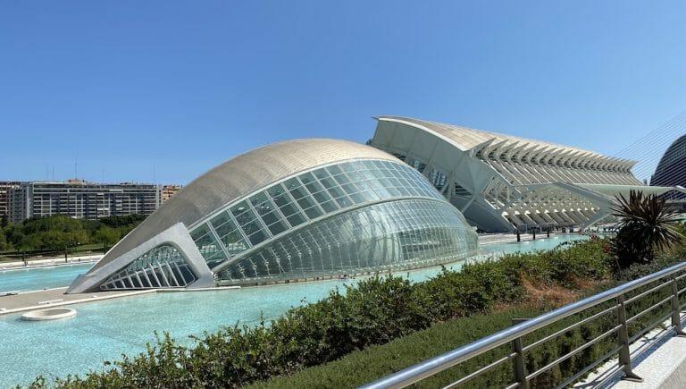 Vista de la Ciudad de las Artes y las Ciencias