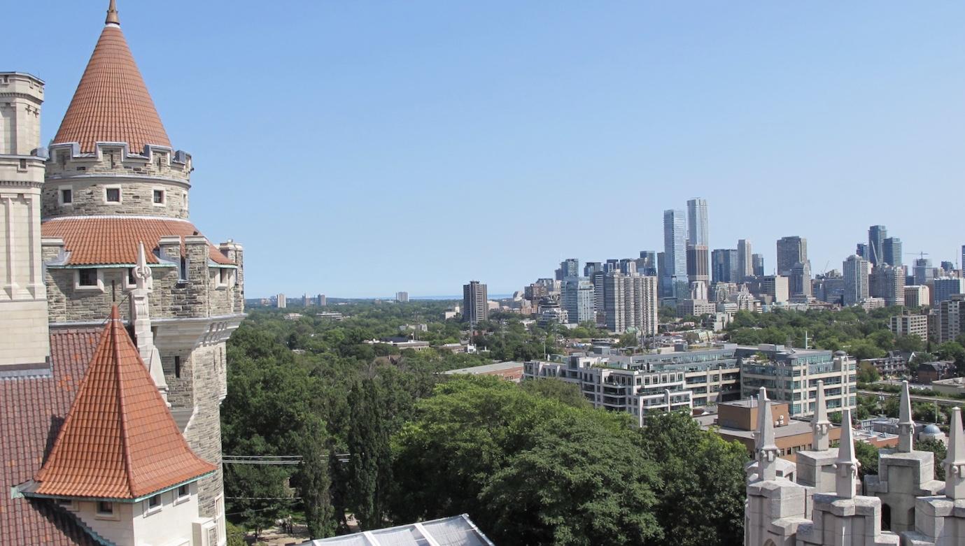Toronto visto desde la Casa Loma