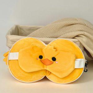 Almohada de Viaje con Antifaz – Pato