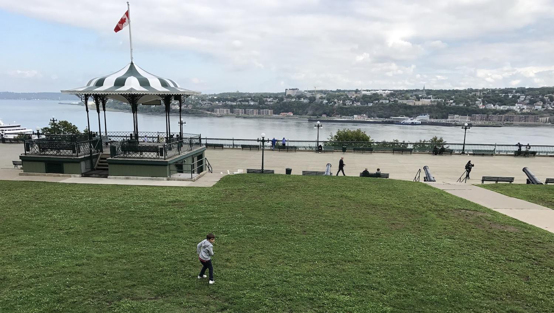 Vista de la Terrace Dufferin Quebec
